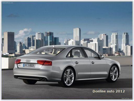 Audi начала принимать заказы на 520-сильный седан S8