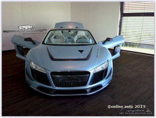 Ателье PPI Speed Design подготовило пакет доработок для Audi R8 V10 Spyder