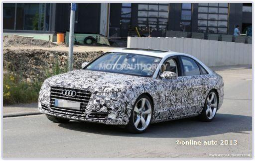 Audi тестирует новый S1 Sportback на севере Скандинавии