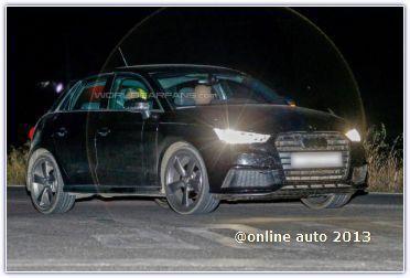 «Заряженный» Audi S1 проходит дорожные испытания