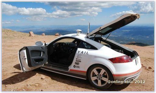 автомобиль – робот Audi TTS с «именем» Шелли (Shelley)