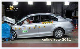 "Краш-тесті по версии Audi A6 - ""отличник"" по версии Euro NCAP"