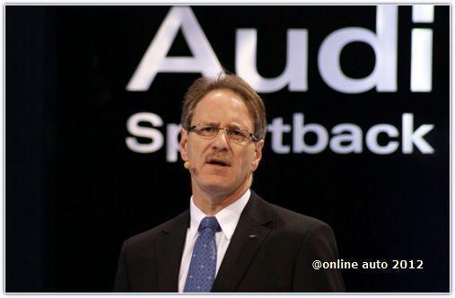 глава Audi of America Йохан де Нишен
