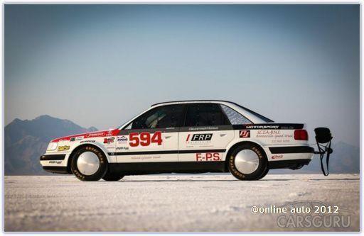 """Самый быстрый среди серийных седанов - модель Audi S4 1992 года """"рождения"""""""