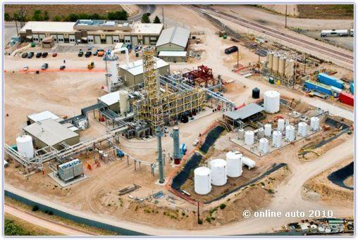 Компания Rentech занимается в том числе и разработкой синтетических видов топлива