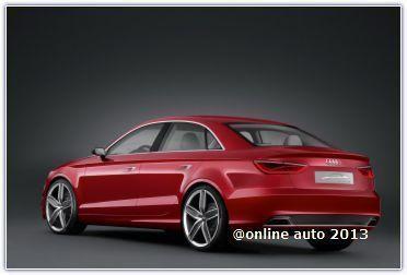 Audi привезет в Шанхай полноприводной седан А3 нового поколения