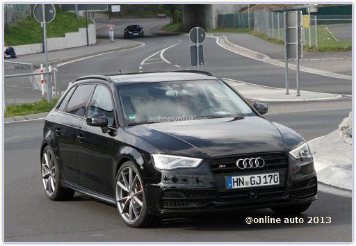 Мул Audi RS3 Next в кузове хэтчбек замечен при прохождении дорожных испытаний
