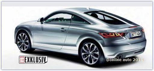В 2014-м Audi покажет новые ТТ