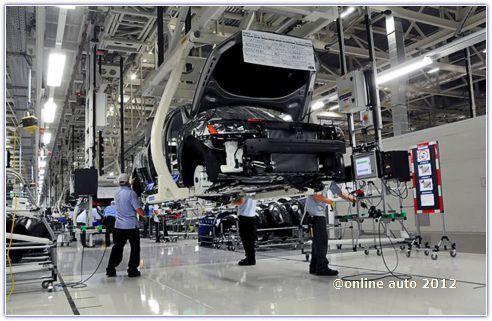Завод Volkswagen AG в Чаттануге, штат Теннесси